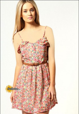 A-Wear-Floral-Dress-Trendy