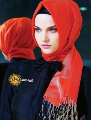مدل شال و روسری – 16
