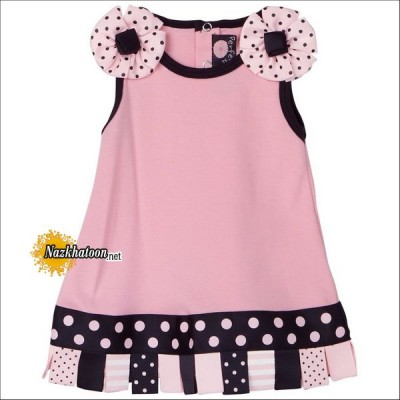 Baby-Girl-Dresses-Pink-Dots-Print