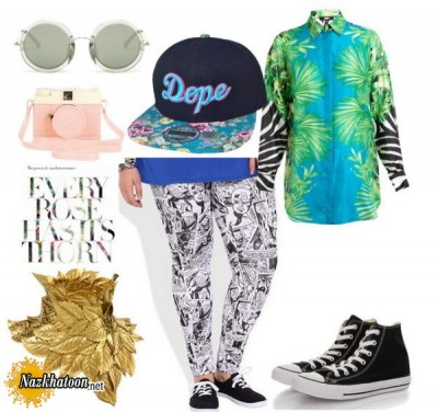 How-To-Wear-Plus-Size-Leggings-Polyvore-Combinations-2-600x565