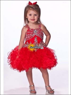 Kids-Dresses-2014-Red