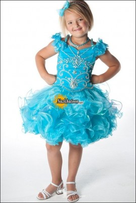 Kids-Dresses-2014-Sky-Blue