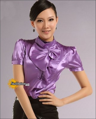 Satin-Blouse-Light-Purple