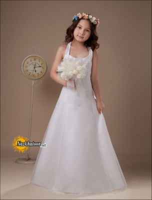Wedding-Girls-Dresses-Lace-Sleeveless