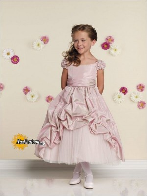 Wedding-Girls-Dresses-Pink