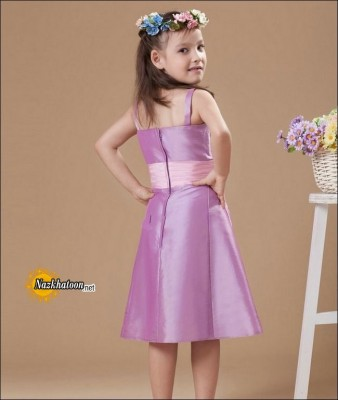 Wedding-Girls-Dresses-Purple