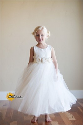 Wedding-Girls-Dresses-White