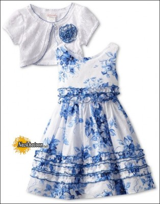 Youngland-Floral-Dress-2014-Blue