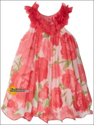 Youngland-Floral-Dress-2014-Orange