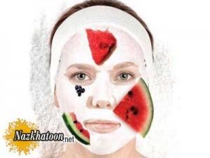 ماسک صورت هندوانه روشن کننده صورت