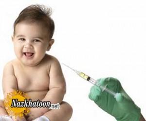 معرفی واکسن های مخصوص کودکان