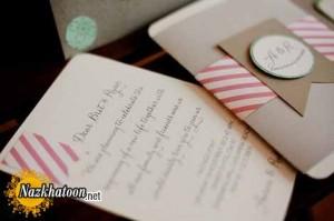 مدل های ساده و شیک کارت عروسی – سری 4