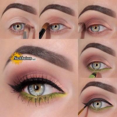 آرایش چشم – مدل 72