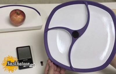 بشقابی برای محاسبه کالری غذاها