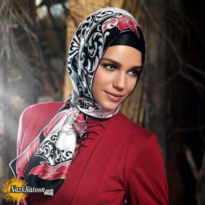 مدل شال و روسری – 18