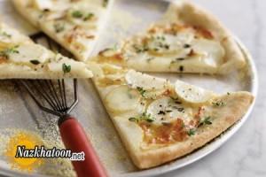 روش تهیه پیتزا سیب زمینی و پنیر