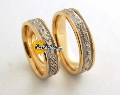 gold-wedding-bands-sets