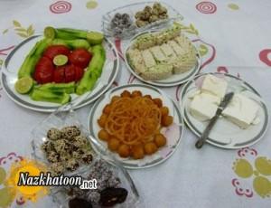توصیه های تغذیه ای ماه مبارک رمضان
