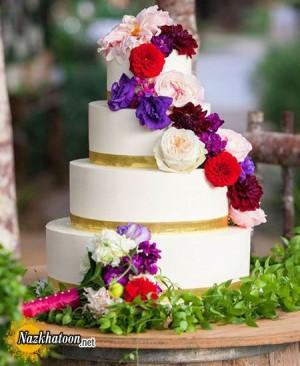 مدل کیک عقد – 10
