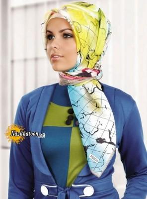 مدل شال و روسری – 19