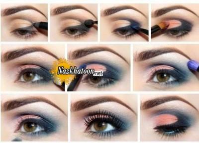 آرایش چشم – مدل 83
