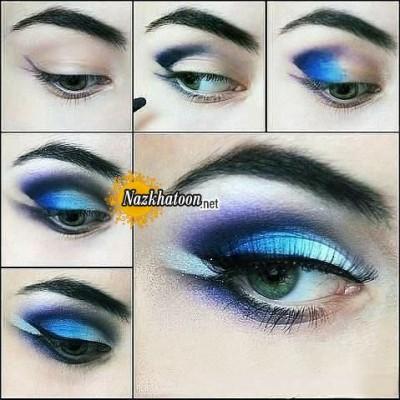 آرایش چشم – مدل 85