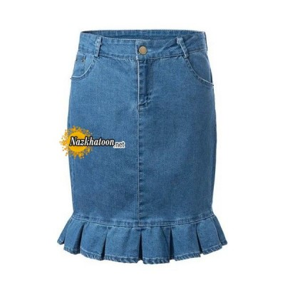 2015-Summer-Womens-font-b-Skirt-b-font-Solid-Pockets-Jean-font-b-Skirts-b-font