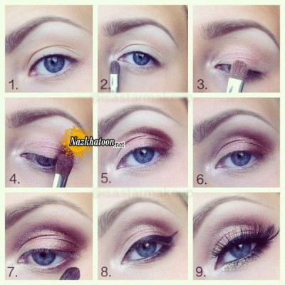 آرایش چشم – مدل 88