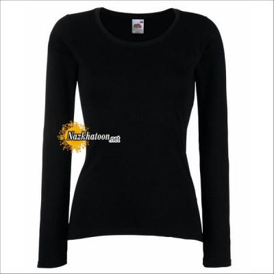 Black-Full-Sleeve-T-Shirts-For-Women