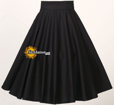Instock-cotton-black-red-font-b-skirts-b-font-full-font-b-circle-b-font-puff
