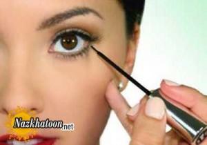 آموزش آرایش چشم بادوام