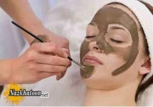 ماسک صورت شکلات