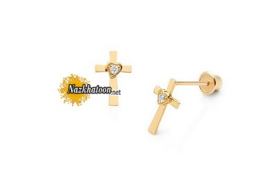 cross-of-love-14kgold-earrings-for-children-with-screwbacks