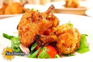 آموزش پخت مرغ برای شام مهمانی ها