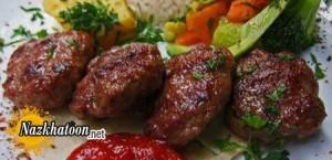روش تهیه گشنیز کباب آذربایجانی