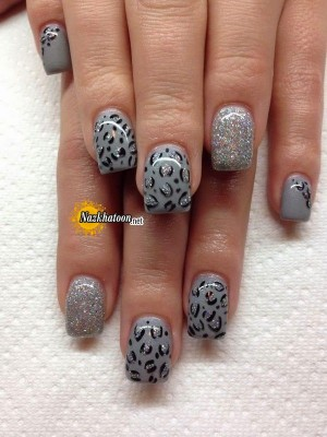 grey-silver-glitter-art-design