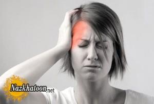 سردرد از علائم تومور مغزی