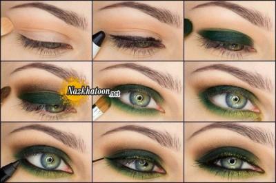 آرایش چشم – مدل 96