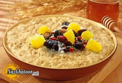 روش تهیه کاسه صبحانه