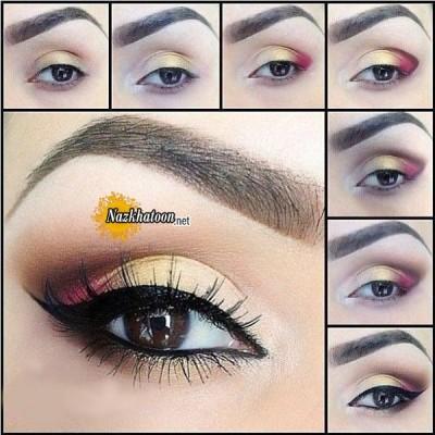 آرایش چشم – مدل 105