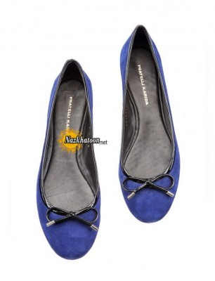 Cobalt-Blue-Flat-Shoes