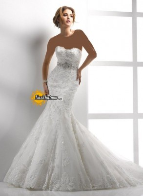 Excellent-Strapless-Wedding-Dress-2015-Image-Latest-Gallery