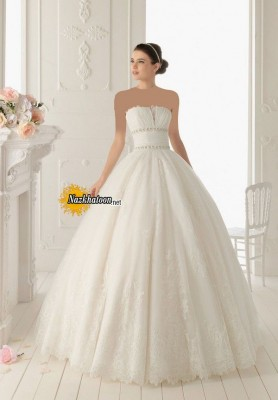 Excellent-Strapless-Wedding-Dress-2015-Photograph-Newest-Assortment