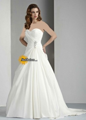 Fashionable-Strapless-Wedding-Dress-2015-Image-Latest-Compilation