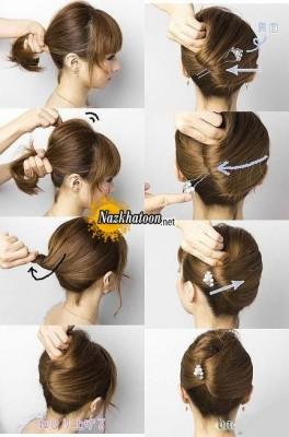 Good-Prom-Updo-Hairstyle-for-Short-Hair