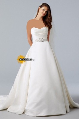 Great-Strapless-Wedding-Dress-2015-Photo-Latest-Selection