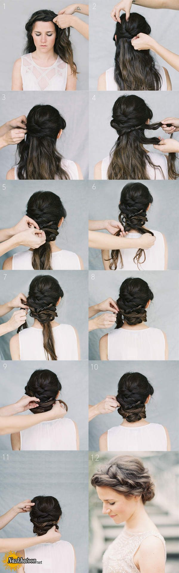 Outstanding How To Crown Braid Hairstyle For Long Medium Short Hair Tutorial Hairstyle Inspiration Daily Dogsangcom