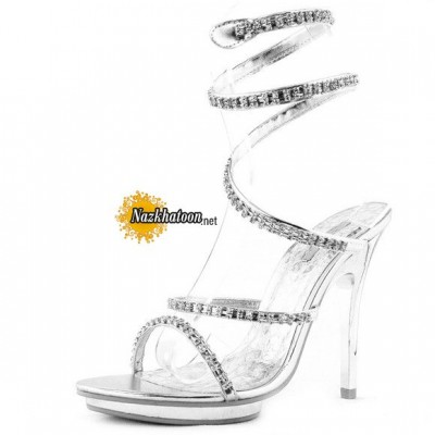 Silver-Evening-Dress-Shoes-Rhinestone-Snake-Ankle-Wrap