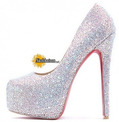 Women-Crystal-Rhinestone-High-Heel-shoes