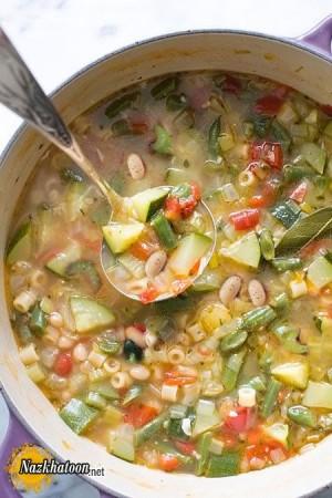 روش تهیه سوپ ماکارونی مخصوص